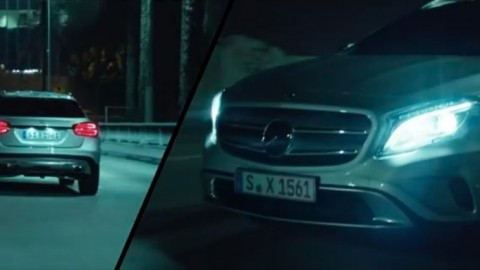 Mercedes benz gla adbreakanthems for Mercedes benz new advert